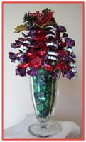 """HOLIDAY ECLAIRS"" Sundae Arrangement The sweet Christmas center piece"