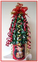 """CHRISTMAS TOPIARY TREE"" Chocolate Arrangement"