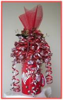"""SWEET CHRISTMAS GIFT"" Candy Arrangement"