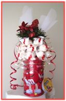 """SWEET CHRISTMAS WISHES"" Chocolate Arrangement"