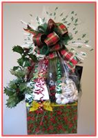 """HAPPY HOLIDAYS"" Gift Basket"