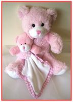 """MY FIRST TEDDY BEAR"" Teddy Bear Baby w/blanket    A perfect gift for a new arrival!"