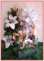 """CHRISTMAS SILVER BEAUTY"" Gift Basket"