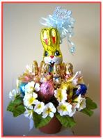 """EASTER GIFT FOR HIM"" Candy Bouquet"