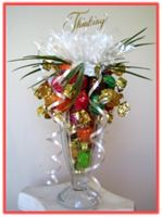 """THINKING OF YOU"" Sundae Candy Arrangement"