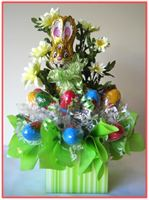 """EASTER BUNNY""    Candy Bouquet"