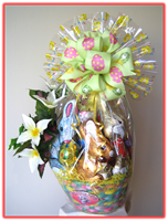 """TRADITIONAL EASTER""   Gift Basket"