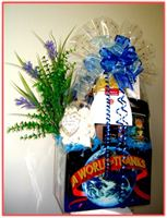 """A WORLD OF THANKS""     Gift Basket      A warm 'Thank You' appropriate for a variety of occasions."