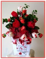 """RAFAELLO BOUQUET"" Candy Bouquet Topper"