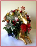 """GOLDEN REINDEER"" Candy Bouquet"