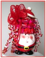 """HAPPY SANTA"" Candy Arrangement A beautiful gift for kids..."
