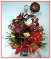 """MERRY CHRISTMAS"" Candy Bouquet"