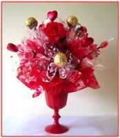 """ROMANCE OR JUST FRIENDS EITHER...""  Candy Bouquet"