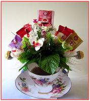 """TEA TIME""  Candy Bouquet"