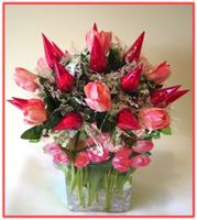 """TULIPS & CHOCOLATES"" Candy Bouquet"