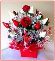 """BLOOMING ROSES""   Candy Bouquet"
