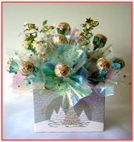 """WHITE CHRISTMAS"" Candy Bouquet"
