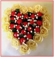 """TAKE MY HEART... TAKE MY WHOLE LIFE TOO...""  Chocolate & Floral Arrangement"