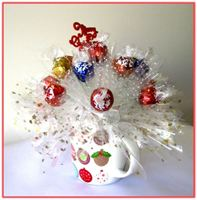"""HOLIDAY MUG"" Candy Bouquet"