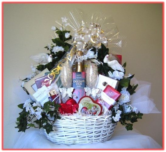 Wedding Gift Ideas For Wealthy Couple : Our Celebration gift basket is an ideal gift for a new couple or ...